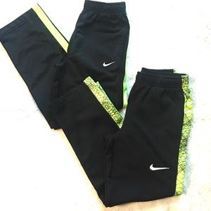 Two pair Nike pull on pants